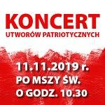 Koncert utworów patriotycznych
